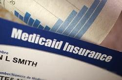 Stock photo showing Medicaid insurance