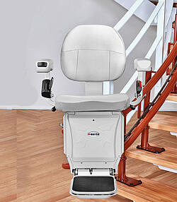 Navigator Stair Lift for Curved Stairs