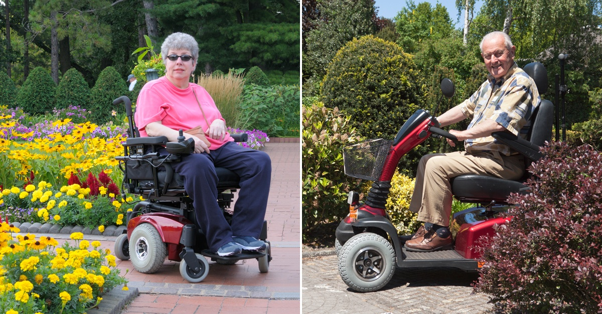 Wheelchair-VS-Scooter