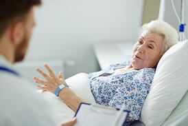 Madicare covers the vital needs of hospitalization.